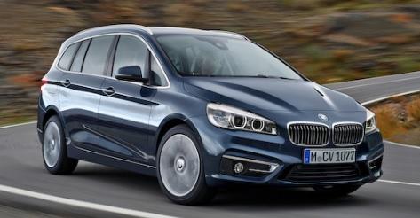 新型 BMW 2シリーズ グランツアラー